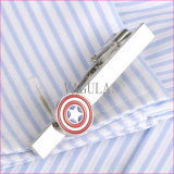 VAGULA Business de Corbata Captain America Tie cadeau de la qualité de la barre Tie Pin Tie Clip 50