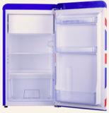 220-240 В мини-Color одной двери в стиле ретро холодильник на дешевый