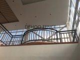 La polvere Bronze popolare ha ricoperto la rete fissa protettiva e decorativa del balcone incurvata qualità