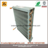 De Condensator van de Vin van het Aluminium van de Buis van het koper voor Lucht Gekoelde Harder