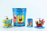 Hand Paint Spongebob Licensed Polyresin Bathroom Accessory