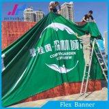 Bandera publicitaria al aire libre o de interior de la flexión de Frontlit