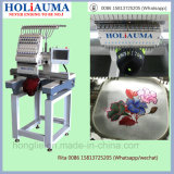 Máquina plana principal barata del bordado de Holiauama sola
