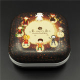 Hojalata Bread Box; Dulces de chocolate Metal Box (S001-V20)