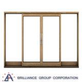 Heißer Verkauf als 2047 Standardaluminiumrahmen-schiebendes Fenster