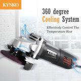 machines-outils professionnelles minces de Kynko de rectifieuse de cornière de corps de 900W 100mm