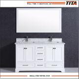 Armário de vaidade de banheiro de madeira maciça T9311-48W