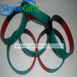 Wristband in bianco alla moda & più poco costoso del silicone