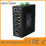 Interruptor de red Ethernet de 8 puertos gestionado industrial