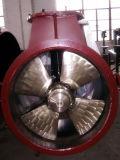 Precisión que echa el propulsor de marina