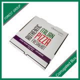 Pizza-Kasten-glatter gewölbter Papierkasten e-Flöte