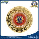 Monnaie de souvenir en métal avec bord spécial