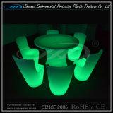 Reeks van RGB LEIDENE de Navulbare LEIDENE Openlucht Lichte Plastic Meubilair