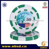 2,5G taches 2couleur 8Mini autocollant des jetons de poker (sy-A03-1)