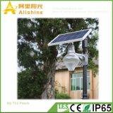 12W太陽ライトを飾る省エネランプ5年の保証統合されたLEDのヤードの