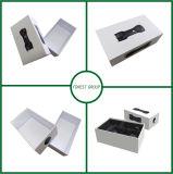 Caixa de presente luxuosa branca com venda por atacado da tampa