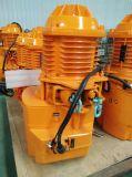 Un argano elettrico da 2 tonnellate per il maneggio del materiale
