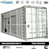 groupe électrogène de 1500kw Mitsubishi avec le conteneur ISO