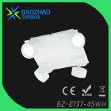 Éclairage LED à rayons blanc peint
