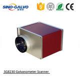 Cabeça de estaca Sg8230 do laser da exatidão elevada para a máquina de impressão das calças de brim