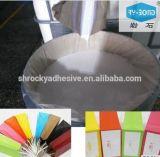 Cola à base de água de alta aderência para papel laminado OPP