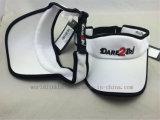 Saugfähiges Polyester-Ineinander greifen Sports Masken-Schutzkappe mit Stickerei