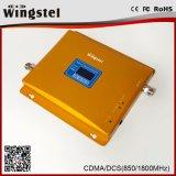 De doble banda 850 / 1800MHz 2G 3G 4G señal del teléfono móvil Booster