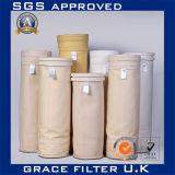 Цедильный мешок Aramid Nomex меты завода смешивания асфальта