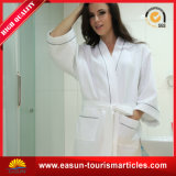 100% Cotton Waffle Bathrobe with Good Quality