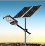 Integrated 90W LED Solar Street Light com bateria Painel solar