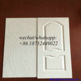 Piel moldeada pintura blanca de la puerta