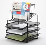 책상 쟁반 Organiser/금속 메시 문구용품 조직자 사무실 책상 부속품