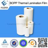 Film thermique BOPP brillant et matriciel 25mic avec SGS