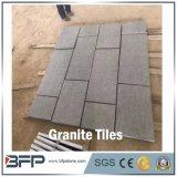 Mattonelle nere naturali del granito del Bluestone di stile cinese dell'Australia, lastra, scala, Cobblestone