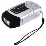 Le camping de la lumière avec l'énergie solaire de la manivelle de la Radio FM Lecteur MP3