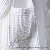 Peignoir de gaufre de coton de textile d'hôtel