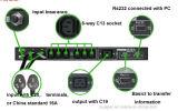 Familien-automatischer Übergangsinnenschalter für Stromnetz (MSTS-16A 240VAC 7 Kreisläuf 2P)
