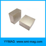Générateur à un aimant permanent de néodyme de bloc d'aimant intense superbe de nickel
