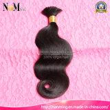 Natürliche Haar-Farbe Dyeable Menschenhaar-Masse-Häkelarbeit-unverarbeitete Jungfrau-europäische Haar-Masse