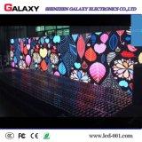 Pantalla de visualización video fija de pared de la pequeña echada de interior LED del pixel P1.875/P1.904