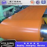 Il colore di PPGI ha ricoperto la lamiera di acciaio galvanizzata colore d'acciaio del metallo