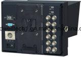 """Monitor des IPS-1280x800 Panel-7 """" des Direktoren-LCD mit YPbPr, 3G HD-SDI, HDMI Input für Sendung u. Fotographie"""