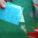 影響が大きい強さのブラウンのプラスチックポリカーボネートによって浮彫りにされるシート