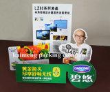 OEM de Ontwerp Afgedrukte pp Plastic Doos van het Pakket van de Voeder met Handvat (de voederdoos van pp)