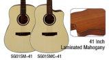 Alle Furnierholz Cutway Akustikgitarre