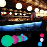 Muebles al aire libre impermeable LED colgar bola con WiFi remoto