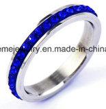 De Ring van de Vinger van het Roestvrij staal van de Arduinstenen van de Juwelen van Shineme (CZR2577)