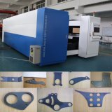 Taglierina per il taglio di metalli del laser della fibra del piatto dell'acciaio inossidabile del macchinario di precisione