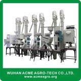 Piccola pianta automatica della riseria dell'insieme completo fatta in Cina