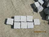 Дешевым камень кубика вымощая камня цены естественным изогнутый гранитом